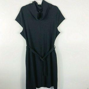 Banana Republic Size XL Belted Cowl Neck Dress